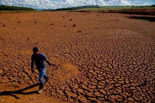 Tierra desertificada en Brasil