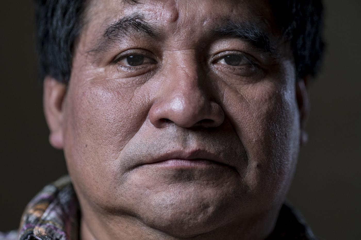 17 Abril 2017. Guatemala. Bernando Caal Xol: Líder comunal