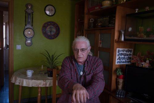 Foto de Victor, afectado de pobreza energética