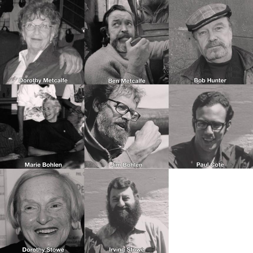 Greenpeace fundadores