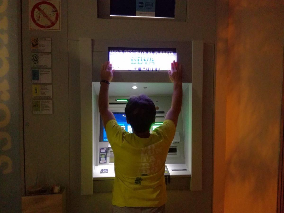 Actividad en los cajeros de BBVA en Baleares