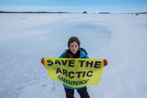 """Expedición de Greenpeace, """"Mujeres por el Ártico"""" Elena Anaya"""