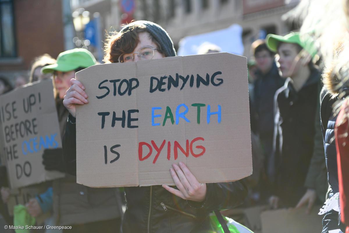 Huelgas por el clima