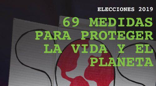 69 Medidas para proteger la vida y el planeta