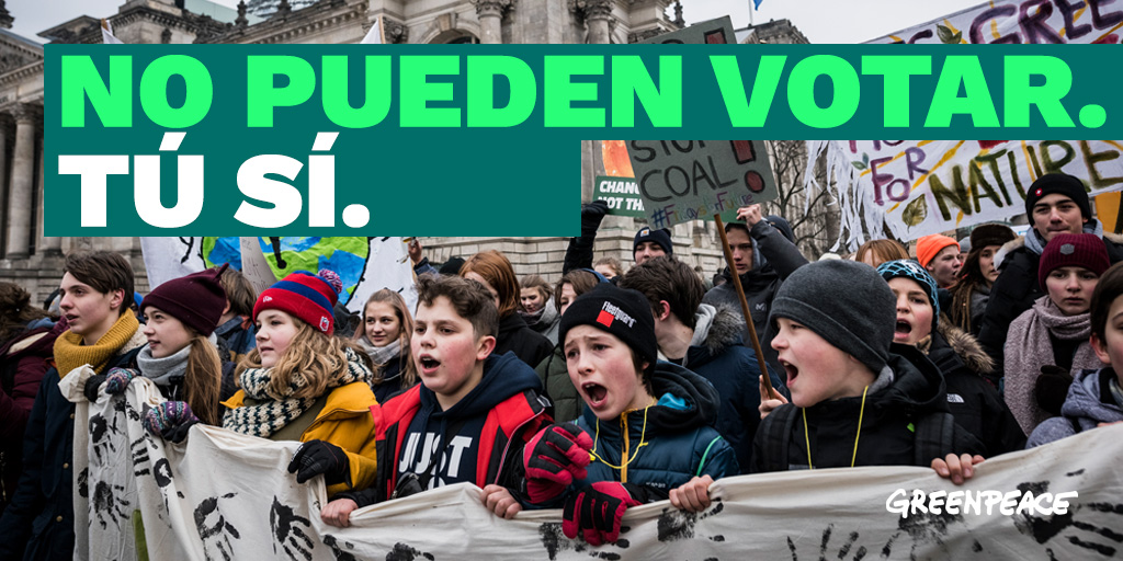 Vota por la juventud