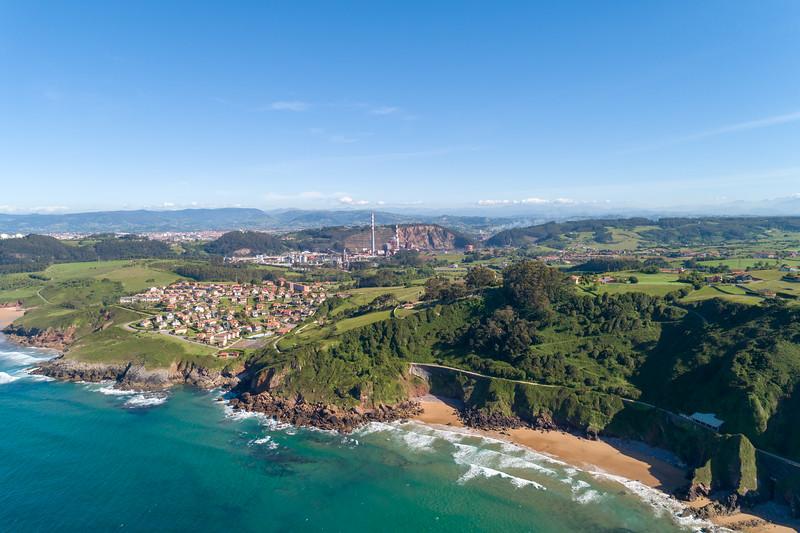Playa de Tranqueru, Asturias.