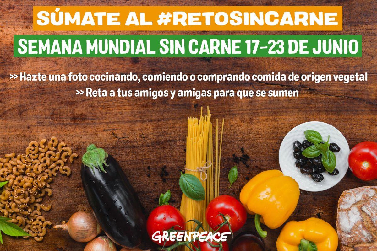 #RetoSinCarne