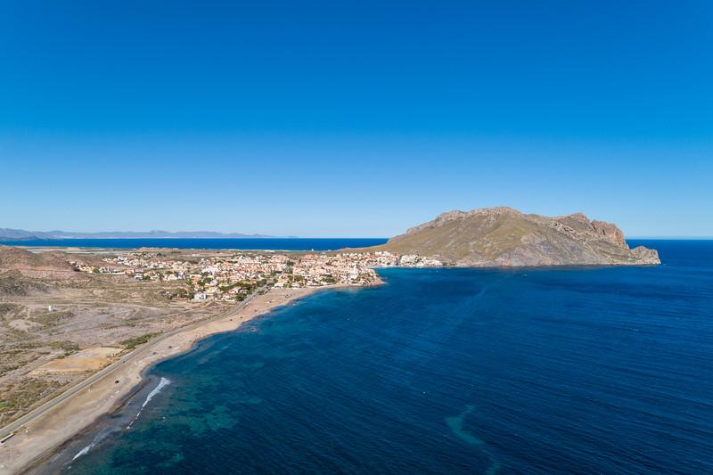 Playa de la Cola, Murcia.