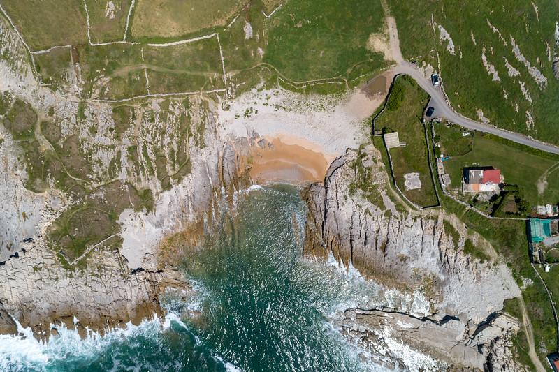 Playa Rosamunda, Cantabria.