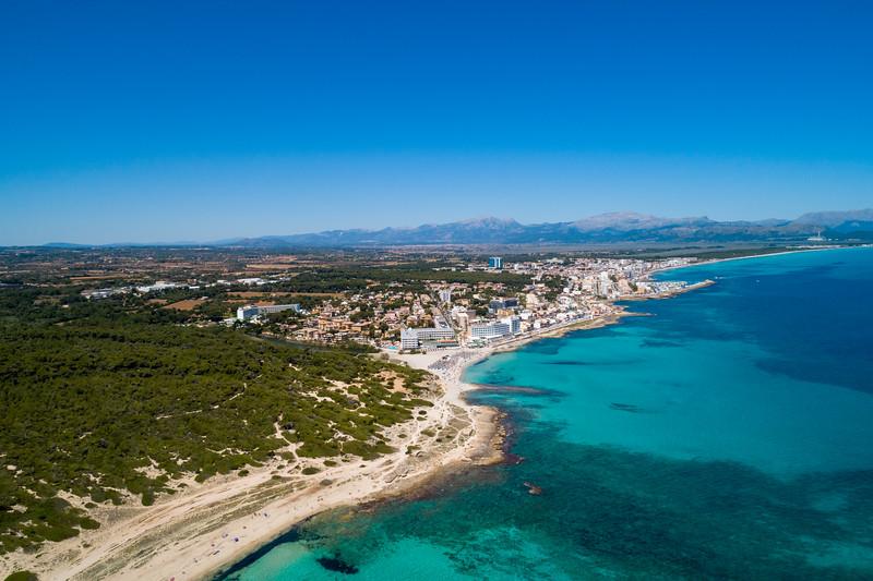 Playa Margalida, Islas Baleares.