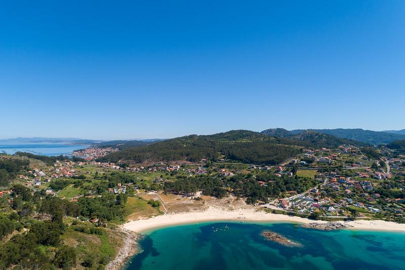 Praia de Limens, Cangas, Pontevedra.