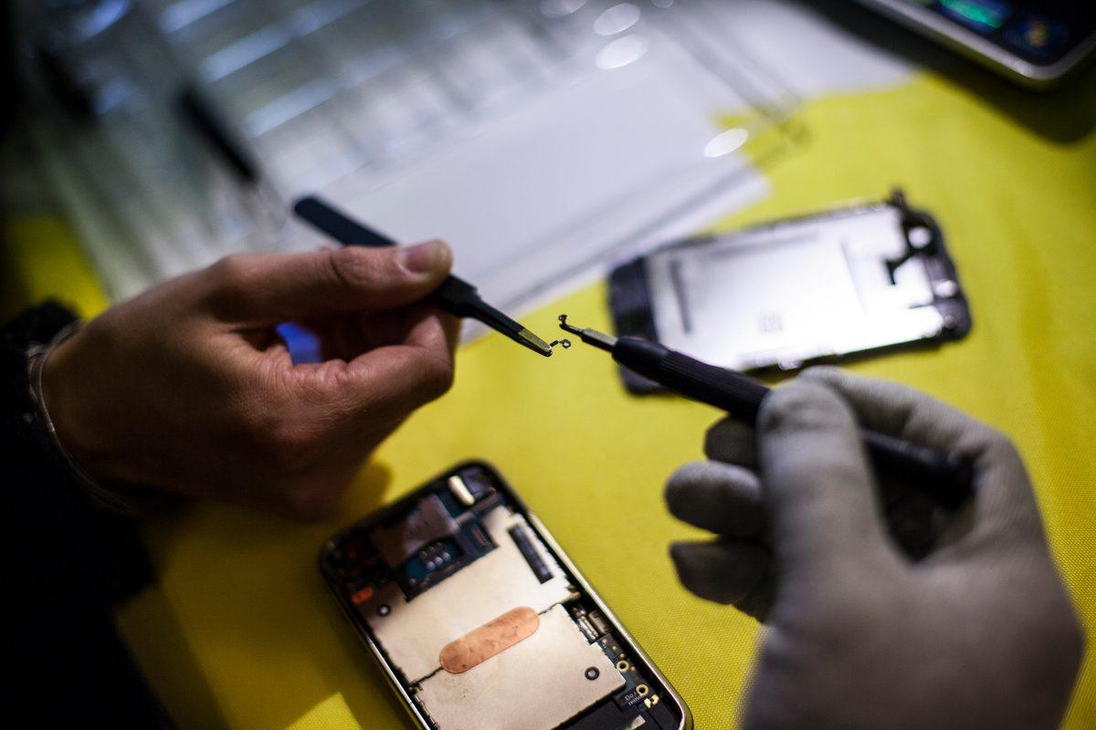 Reparación smartphone