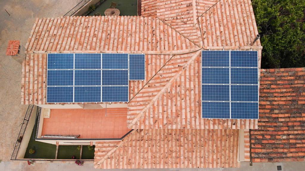 Placas solares tejado