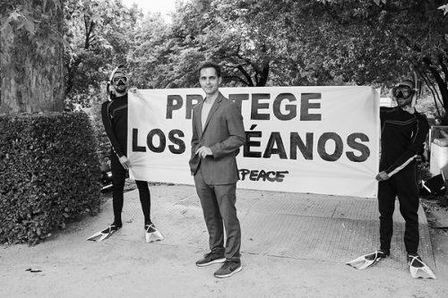 Pedro Alonso y Manolo Caro se unen a Greenpeace
