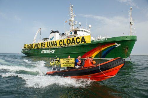 Acción contaminación Huelva