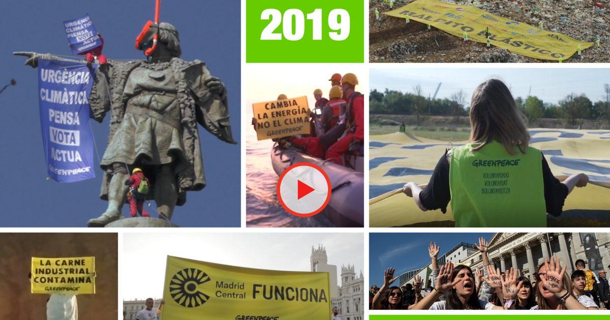 Resultado de imagen de greenpeace Balance 2019: lo mejor, lo peor y los retos