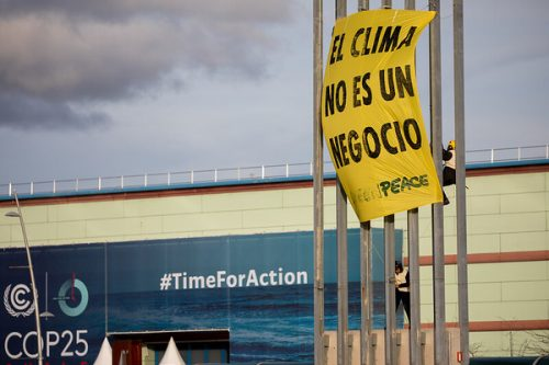 Acción recta final COP25