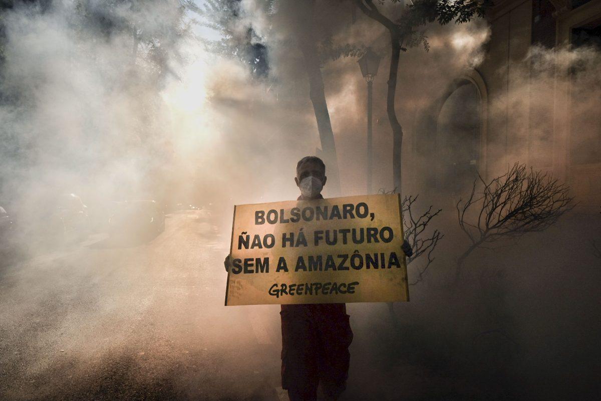 Acción Embajada Brasil