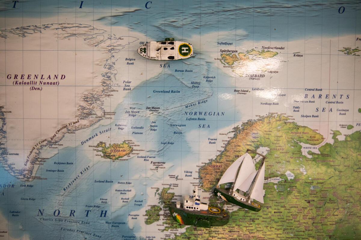 Barcos Greenpeace