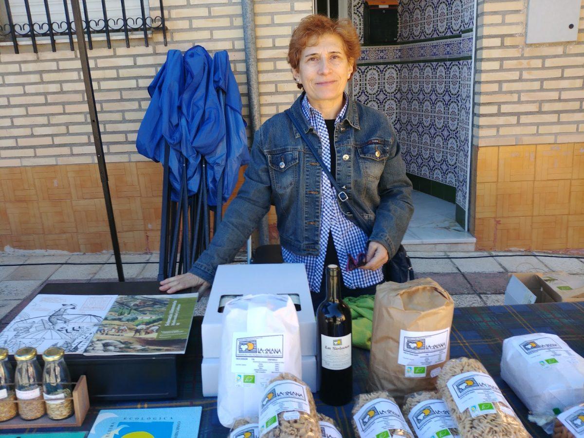 Belén Verdugo, agricultora ecológica.