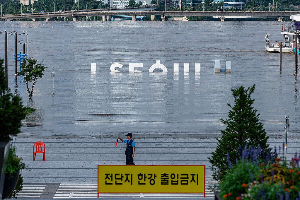 Inundaciones en Corea del Sur