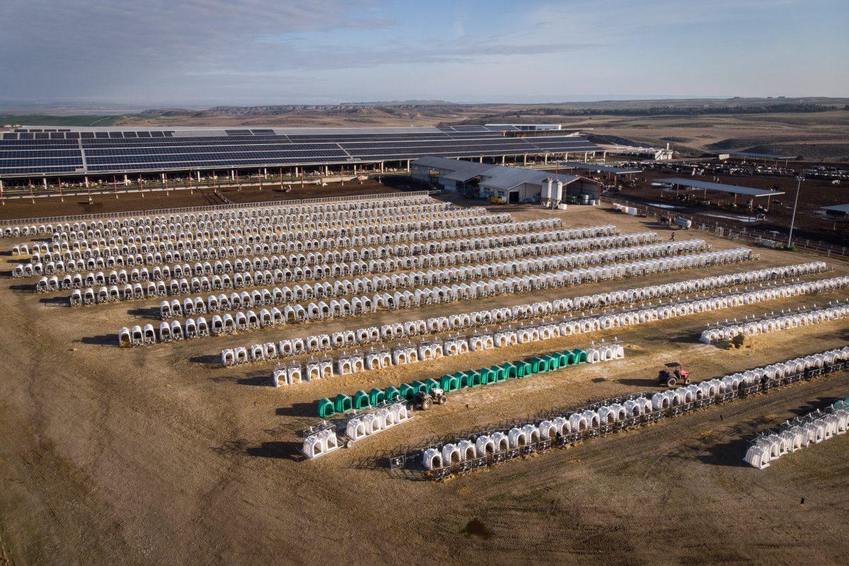 Vista aérea de las instalaciones. © Pedro Armestre / Greenpeace