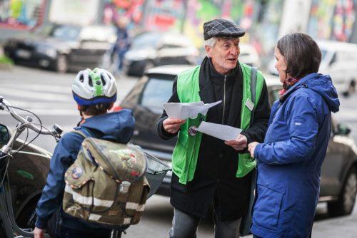 voluntario. voluntariado. Información en calle, DD