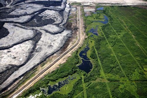 Alberta Tar Sands-en linea sismikoa