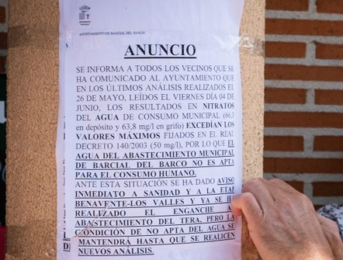 contaminación nitratos España macrogranjas